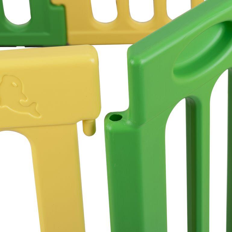 Baby Vivo Laufgitter aus Kunststoff Rechteck - Erweiterbar - B-Ware – Bild 8