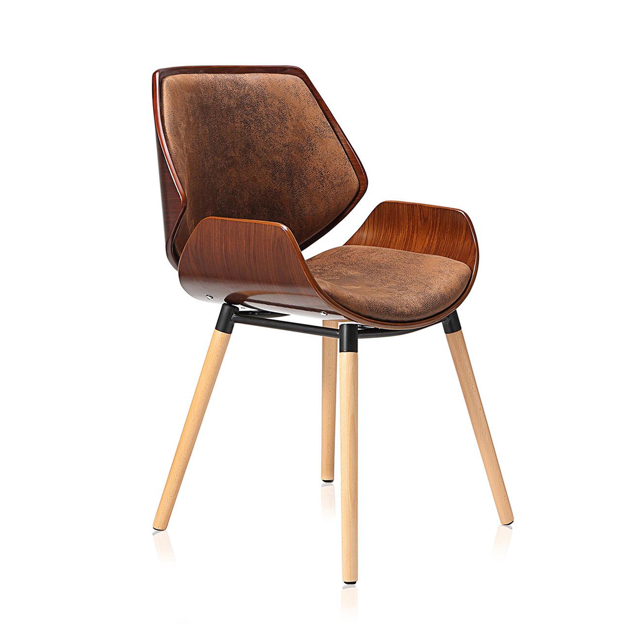 Design stuhl retro b ro hocker esszimmerstuhl vintage - Stuhle retro design ...