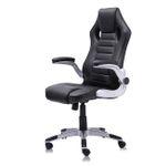 MY SIT Racing Chair Bürostuhl aus Kunstleder Schwarz V10 001