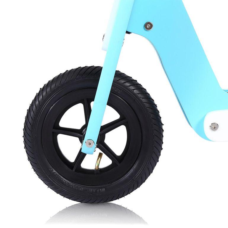 Baby Vivo 10 Zoll Kinderlaufrad / Laufrad aus Holz mit Klingel - Capri blau – Bild 8