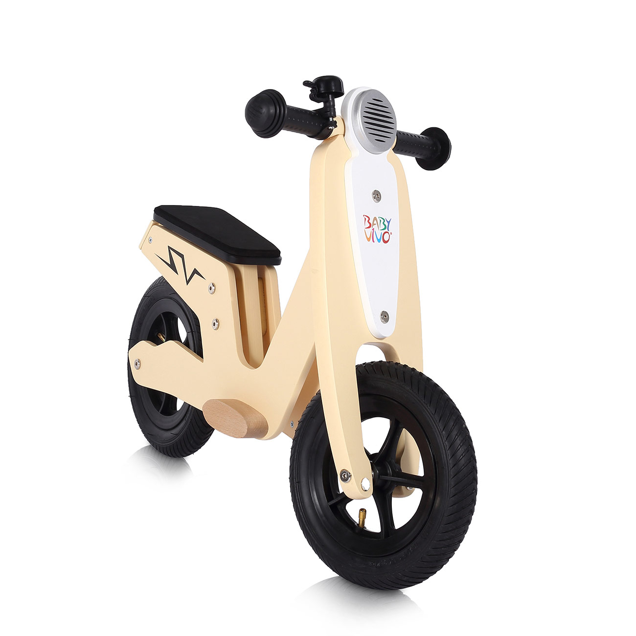 draisienne pour enfant bois balance bike v lo b b trottinette roues baby vivo ebay. Black Bedroom Furniture Sets. Home Design Ideas