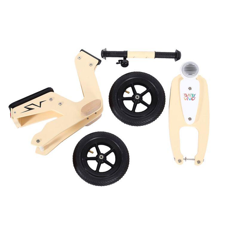 Baby Vivo 10 Zoll Kinderlaufrad / Laufrad aus Holz mit Klingel - Capri – Bild 12