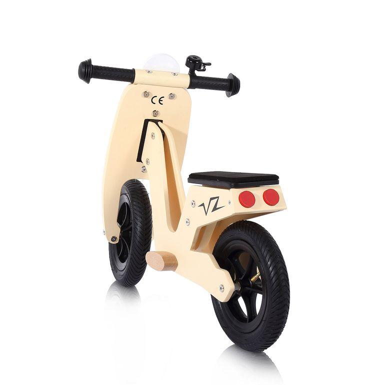 Baby Vivo 10 Zoll Kinderlaufrad / Laufrad aus Holz mit Klingel - Capri – Bild 3