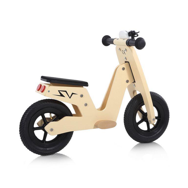 Baby Vivo 10 Zoll Kinderlaufrad / Laufrad aus Holz mit Klingel - Capri – Bild 5