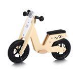 Baby Vivo 10 Zoll Kinderlaufrad / Laufrad aus Holz mit Klingel - Capri