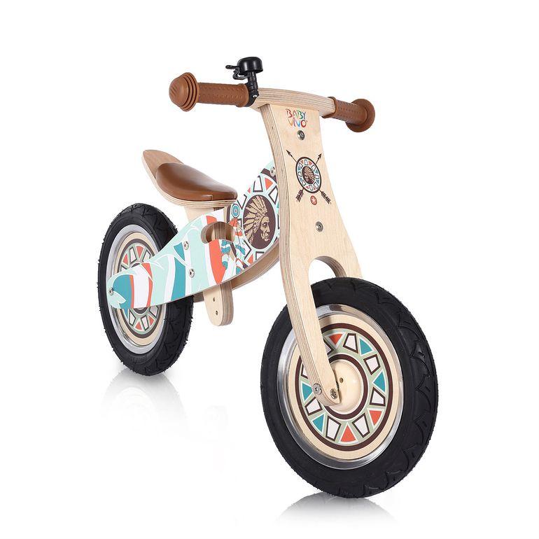Baby Vivo 12 Zoll Kinderlaufrad / Laufrad aus Holz mit Klingel - Winnie – Bild 6