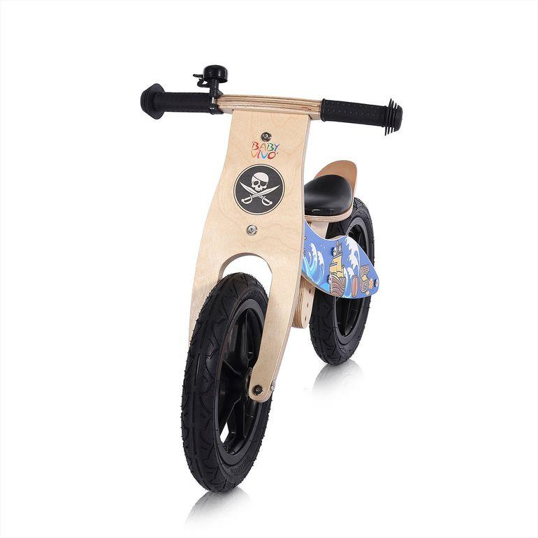Baby Vivo 12 Zoll Kinderlaufrad / Laufrad aus Holz mit Klingel - Jack – Bild 7