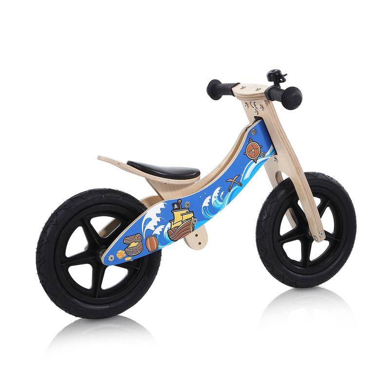 Baby Vivo 12 Zoll Kinderlaufrad / Laufrad aus Holz mit Klingel - Jack – Bild 5