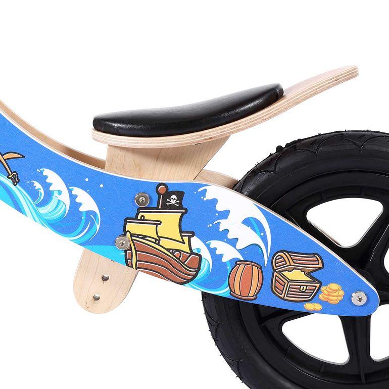 Baby Vivo 12 Zoll Kinderlaufrad / Laufrad aus Holz mit Klingel - Jack – Bild 9