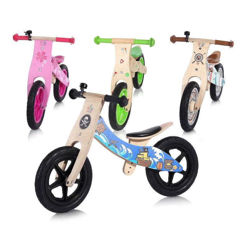 Baby Vivo 12 Zoll Kinderlaufrad / Laufrad aus Holz mit Klingel - Jack – Bild 13