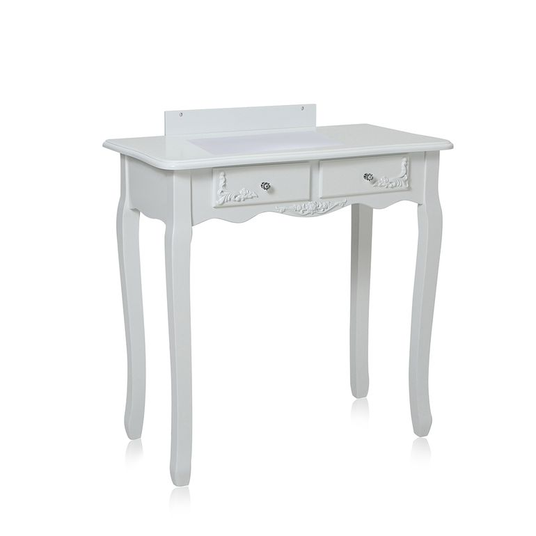 Makika Dressing table / Make-up table ZOE with rotatable mirror and padded stool – Bild 13