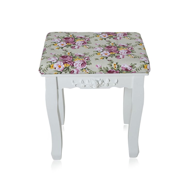 Makika Dressing table / Make-up table CARA with rotatable mirror and padded stool – Bild 14