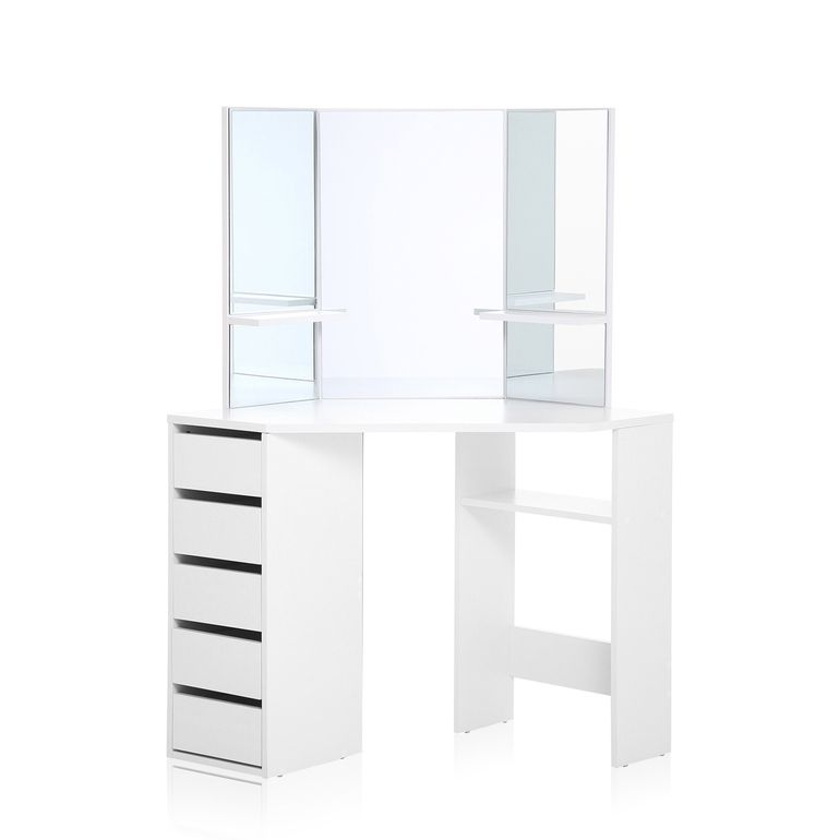 Makika Corner Dressing Table / Corner Make Up Table ELLE U2013 Bild 3
