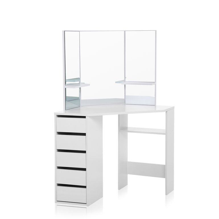Makika Corner Dressing Table / Corner Make Up Table ELLE U2013 Bild 4