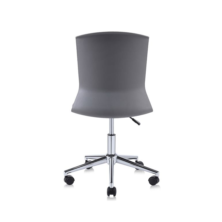 MY SIT Office Chair / Design Stool Swivel Chair NEO with Soft Floor Castors in Grey – Bild 4