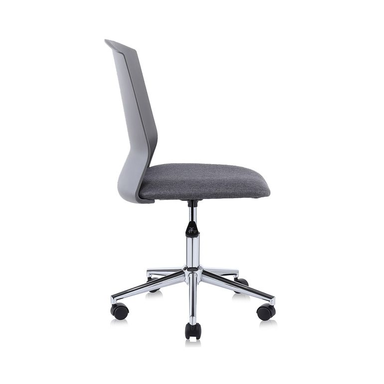 MY SIT Office Chair / Design Stool Swivel Chair NEO with Soft Floor Castors in Grey – Bild 6