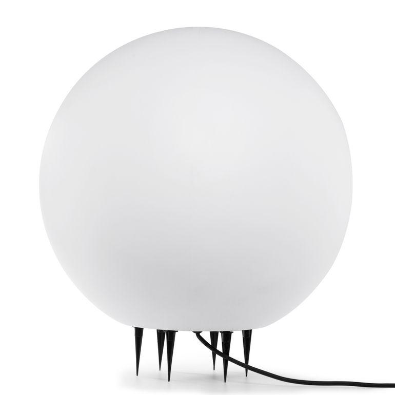 MAXCRAFT Kugelleuchte / Gartenlampe - Ø 20 cm Weiß