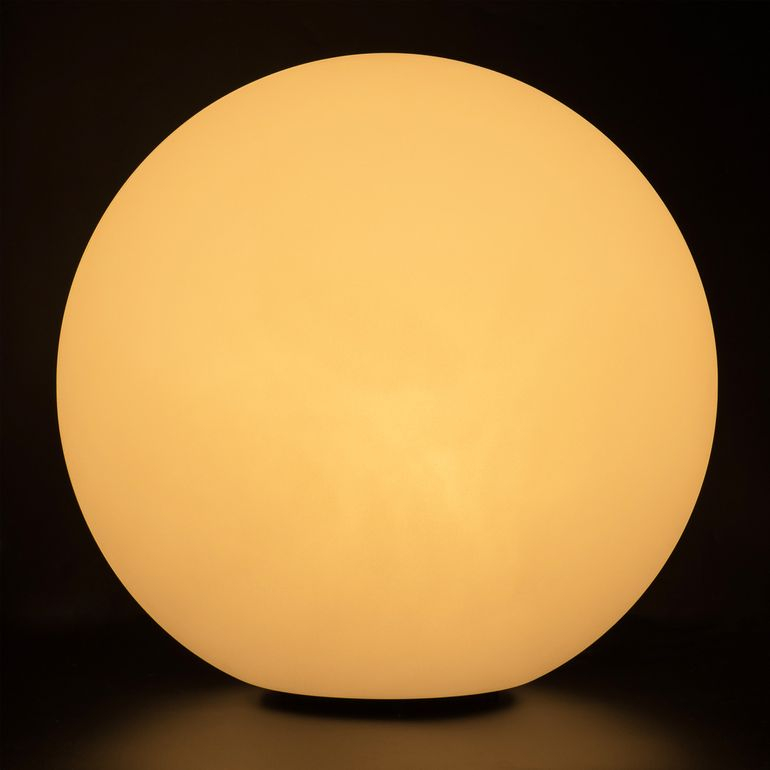 MAXCRAFT Kugelleuchte / Gartenlampe - Ø 30 cm Weiß