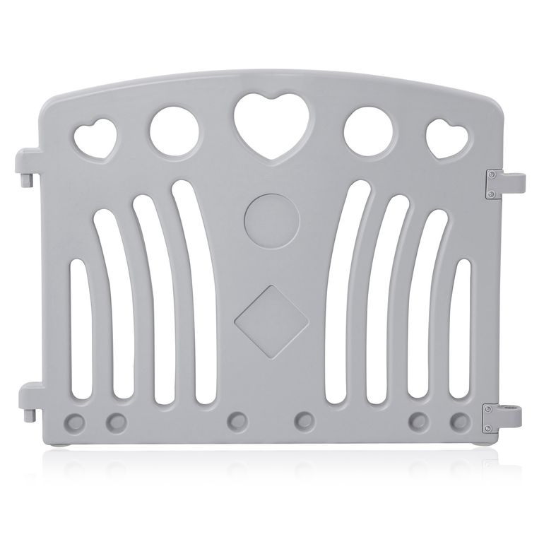 Baby Vivo Playpen Plastic 8 Elements in Grey / White - Judy – Bild 10