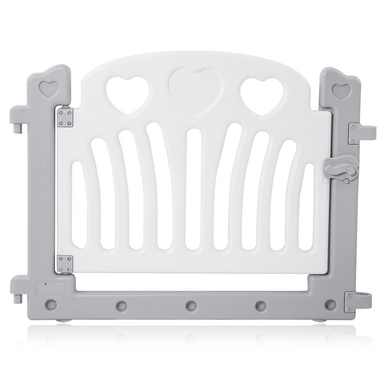 Baby Vivo Playpen Plastic 8 Elements in Grey / White - Judy – Bild 5