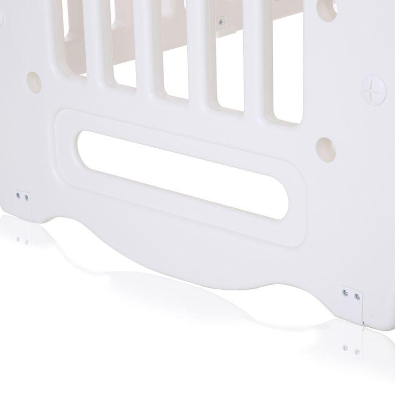 Baby Vivo Lit d'enfant de multifonctionnel à partir de Plastique écologique Blanc - 106 x 71 x 98 cm - Sleepy – Bild 11