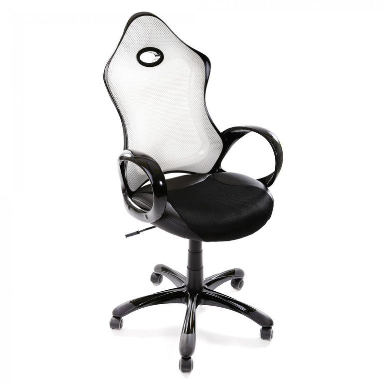 MY SIT Racing Chair Bürostuhl aus Kunstleder Luxury Line Silverstone - B-Ware – Bild 4