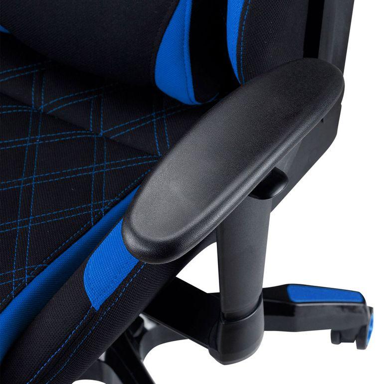 MY SIT Racing Chair Bürostuhl mit Stoff-Bezug - Blue Racer - B-Ware – Bild 12