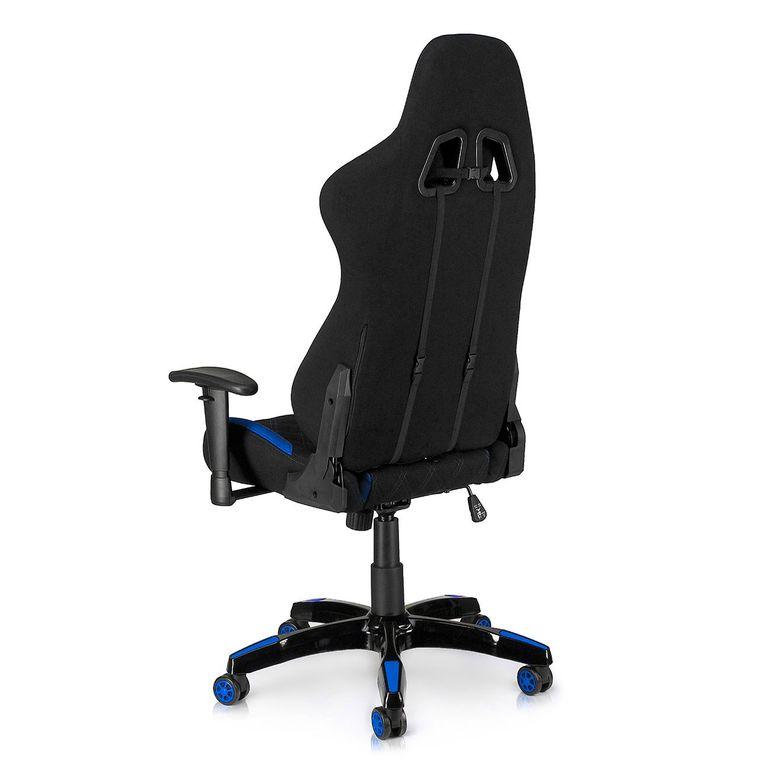 MY SIT Racing Chair Bürostuhl mit Stoff-Bezug - Blue Racer - B-Ware – Bild 5