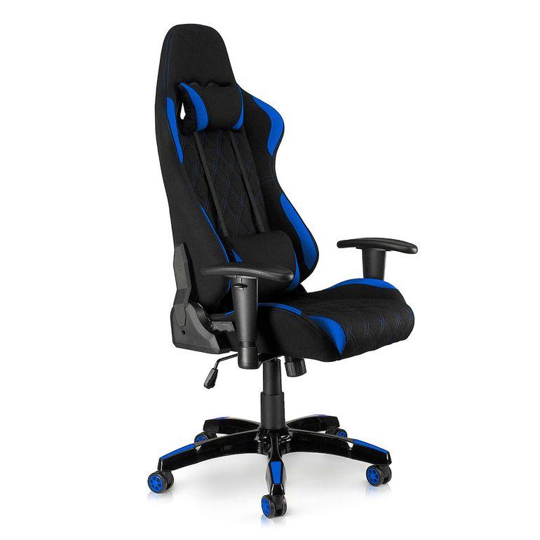 MY SIT Racing Chair Bürostuhl mit Stoff-Bezug - Blue Racer - B-Ware – Bild 8