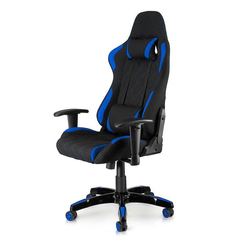 MY SIT Racing Chair Bürostuhl mit Stoff-Bezug - Blue Racer - B-Ware – Bild 1