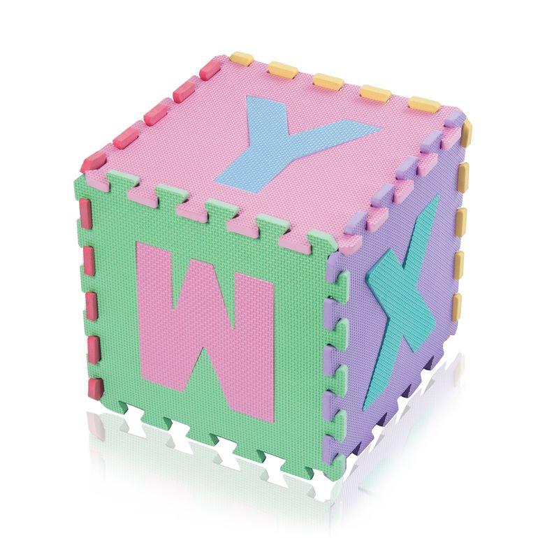 Baby Vivo EVA-Puzzlematte / Spielmatte für Kinder 190 x 190 cm - mit Buchstaben und Zahlen - B-Ware – Bild 14