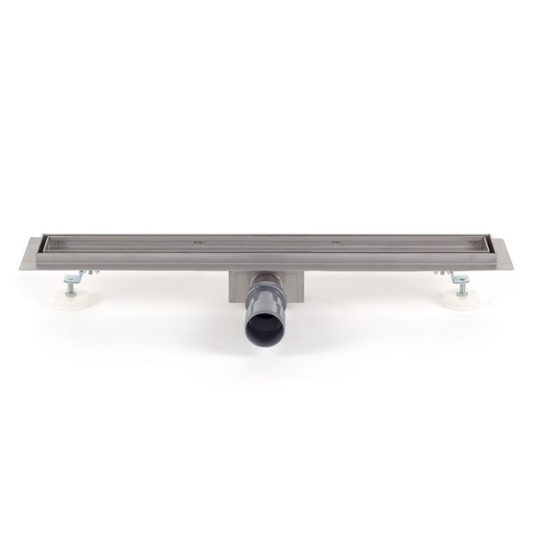 GAJO Duschablauf / Bodenablauf aus Edelstahl - Befliesbar 900 x 70 mm - B-Ware – Bild 3