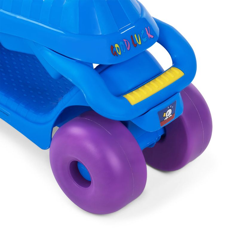Baby Vivo 2in1 Lauflernwagen für Kinder Multifunktional - Scooter in Blau – Bild 13