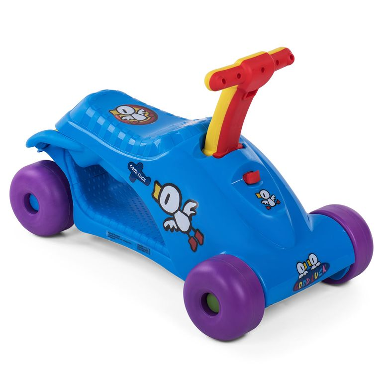 Baby Vivo 2in1 Lauflernwagen für Kinder Multifunktional - Scooter in Blau – Bild 4