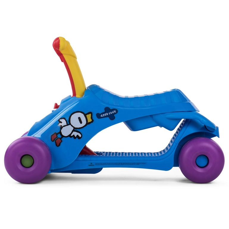 Baby Vivo 2in1 Lauflernwagen für Kinder Multifunktional - Scooter in Blau – Bild 3