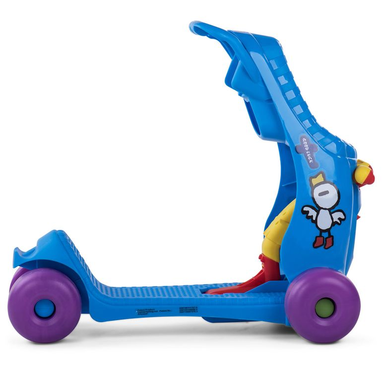 Baby Vivo 2in1 Lauflernwagen für Kinder Multifunktional - Scooter in Blau – Bild 9