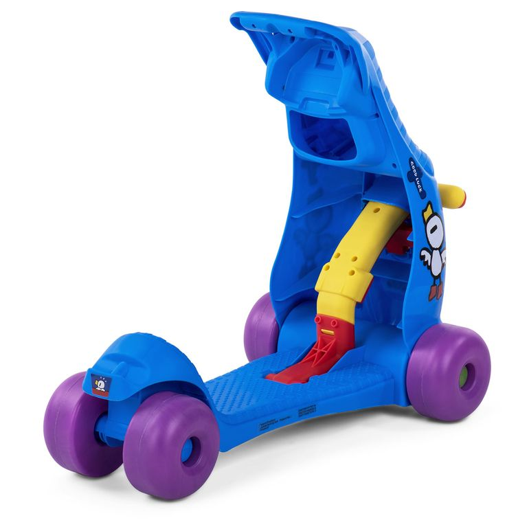 Baby Vivo 2in1 Lauflernwagen für Kinder Multifunktional - Scooter in Blau – Bild 8