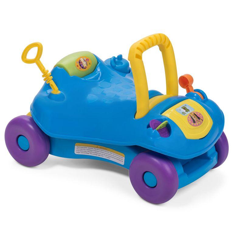 Baby Vivo 2in1 Lauflernwagen / Lauflernhilfe Multifunktional - Rutschauto in Blau – Bild 4