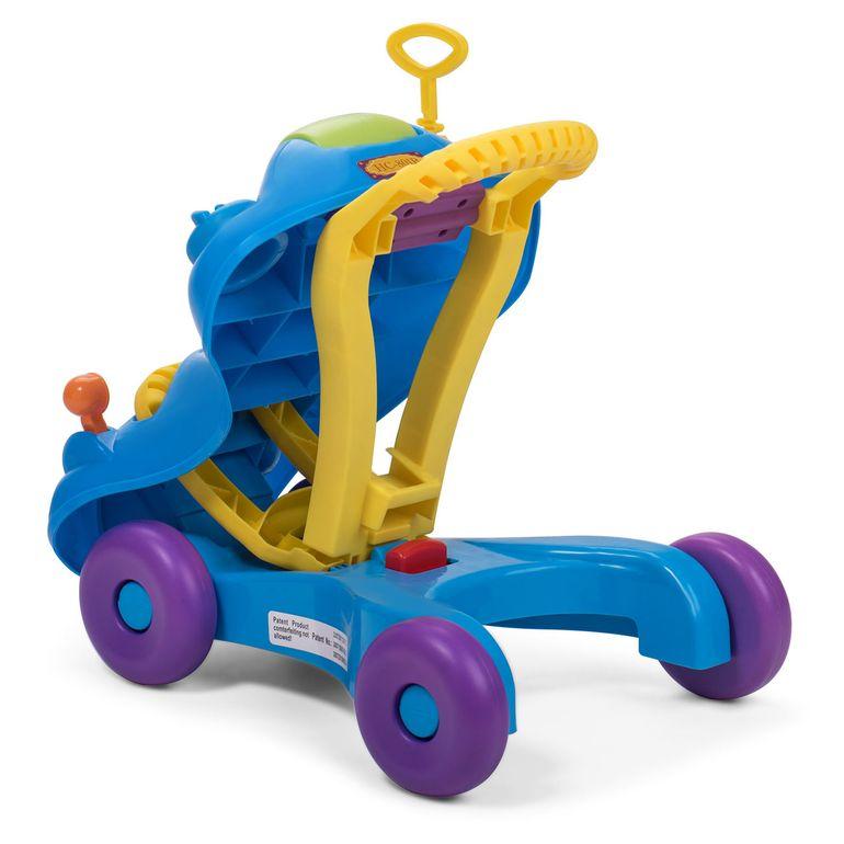 Baby Vivo 2in1 Lauflernwagen / Lauflernhilfe Multifunktional - Rutschauto in Blau – Bild 7