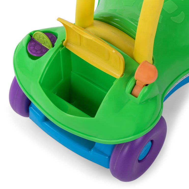Baby Vivo 2in1 Girello / Camminatore Multifunzione - Veicolo giocattolo in Verde – Bild 12