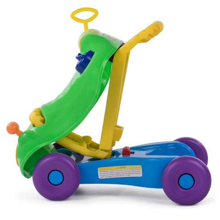 Baby Vivo 2in1 Lauflernwagen / Lauflernhilfe Multifunktional - Rutschauto in Grün – Bild 6