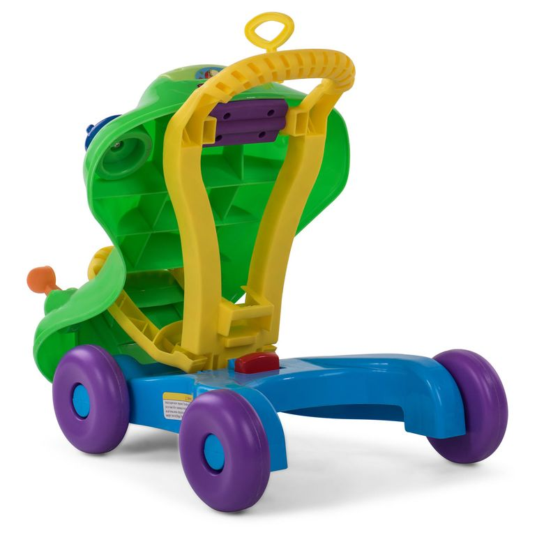 Baby Vivo 2in1 Lauflernwagen / Lauflernhilfe Multifunktional - Rutschauto in Grün – Bild 7
