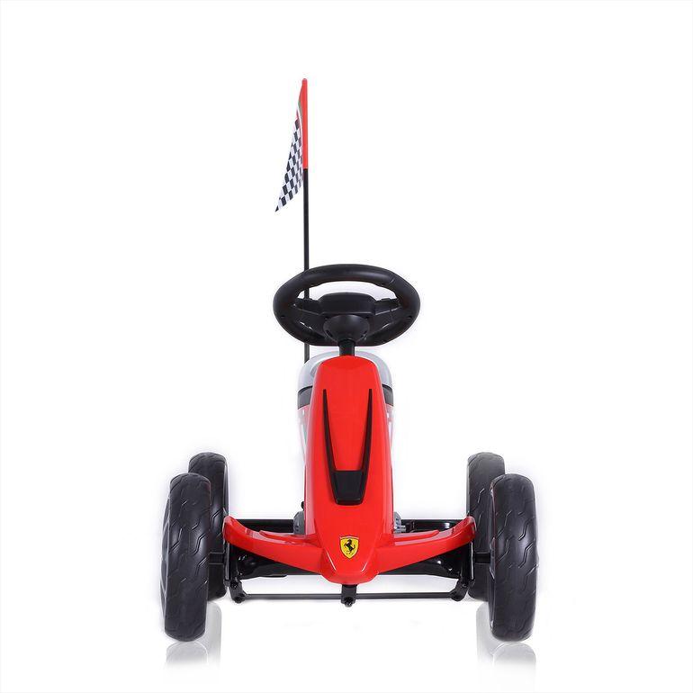 Ferrari Kart à pédale sous Licence officielle pour les Enfants en Rouge – Bild 3