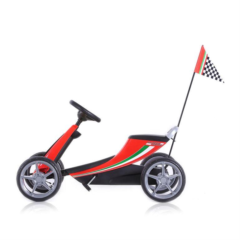 Offiziell lizenziertes Ferrari Go Kart für Kinder in Rot – Bild 4