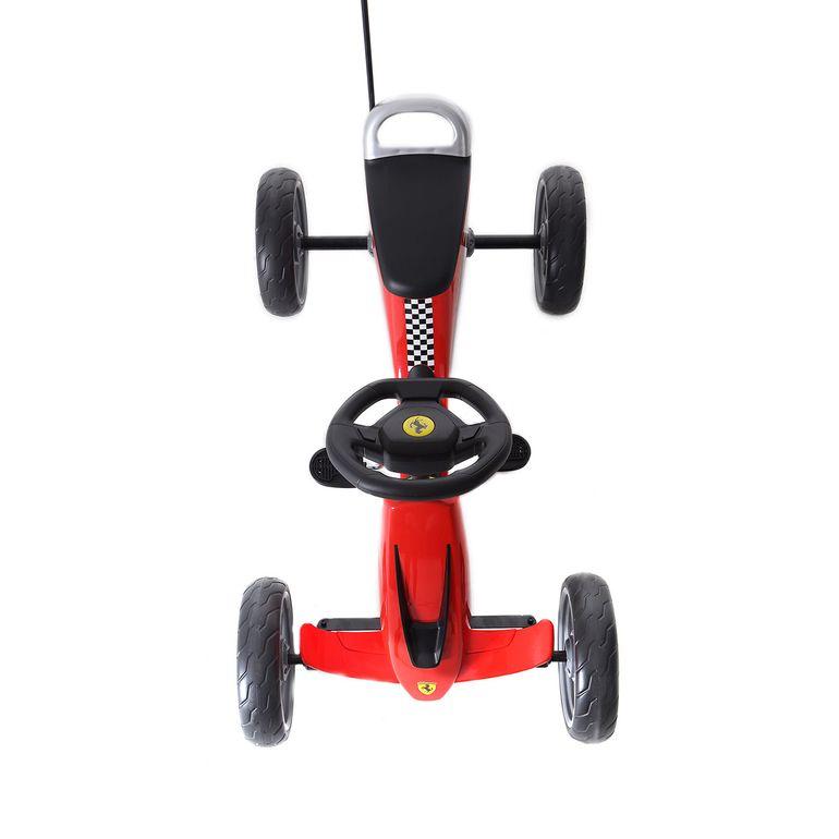 Offiziell lizenziertes Ferrari Go Kart für Kinder in Rot – Bild 8