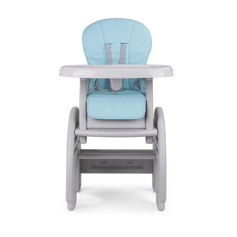 Baby Vivo 2-in-1 Child's Highchair / Combo Plastic High Chair with Table - Elephant – Bild 9