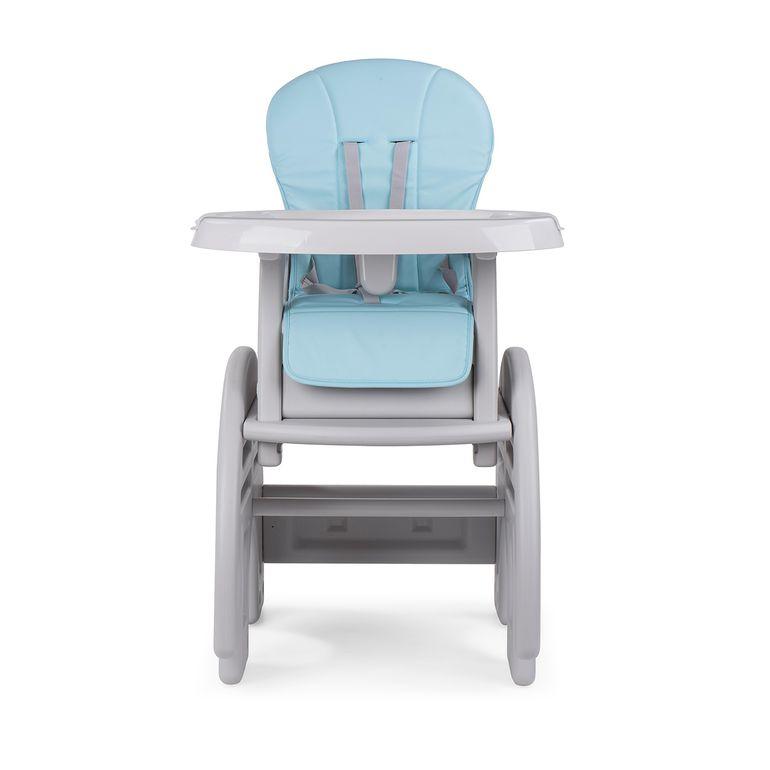Baby Vivo Chaise haute 2 en 1 pour enfants / chaise haute combinée en matière plastique avec une table - Éléphant – Bild 9
