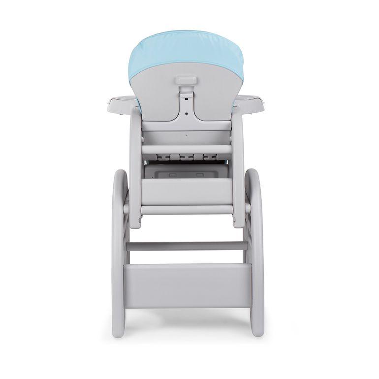 Baby Vivo Chaise haute 2 en 1 pour enfants / chaise haute combinée en matière plastique avec une table - Éléphant – Bild 5