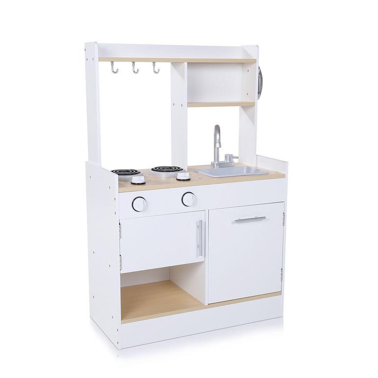 Baby Vivo Cucina per Bambini in Legno con Superficie antigraffio - Billy in Bianco – Bild 3