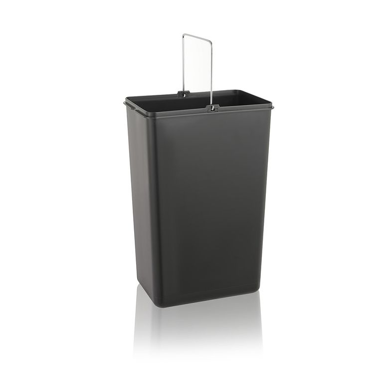 MAXCRAFT Waste bin / Garbage can with 3 Containers and Lids  - 60 Litre (3 x 20 litres) – Bild 9